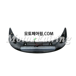 골드윙/튜닝파츠/Rear Trunk Spoiler with LED Somke Lens For Honda GOLDWING GL1800 2001-2011 New 65