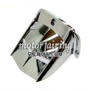 [리어물받이]Yamaha 2008-2011 YZF-R6 YZFR6 YZF R6 R600 Rear Hugger Fender Chrome 35