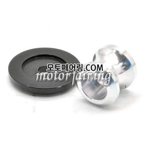 [후크슬라이더]Kawasaki ZX-6R ZX-10R Z750 Z1000 ZZR1400 Billet M10 Swing Arm Spools 01 Silver 15