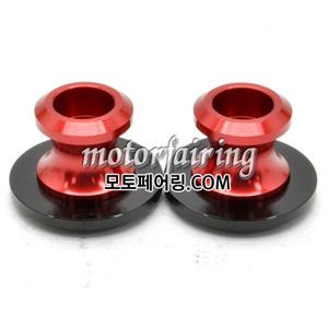 [후크슬라이더]Aprilia RSV Triumph Daytona Yamaha R1 R6 Billet M6 Swing Arm Spools 01 Red 15