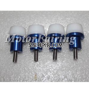 카울볼트 4셋트 볼트넛트 방식 (색상 화이트/블루)