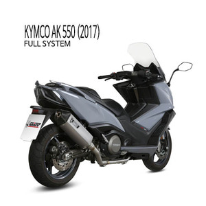 미브 머플러 KYMCO AK 550 (2017) SPEED EDGE STAINLESS STEEL 풀시스템
