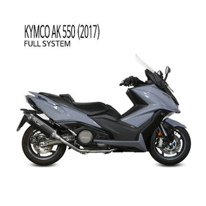 미브 머플러 KYMCO AK 550 (2017) SPEED EDGE BLACK BLACK STAINLESS STEEL 풀시스템