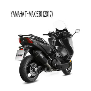 미브 머플러 YAMAHA T-MAX 530 (2017) SPEED EDGE BLACK BLACK STAINLESS STEEL 풀시스템