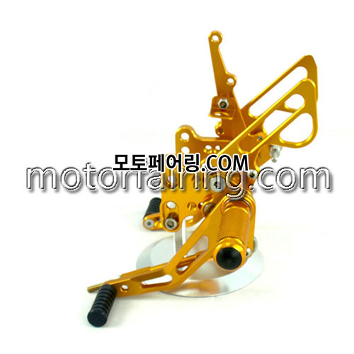 For Suzuki GSXR1000 K5 K6 05-06 Gold 백스텝