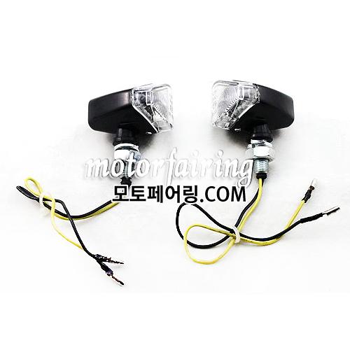 [깜빡이]Stalk Universal Motorcycle LED Turn Signals Light Indicator Flasher MT303-5C 15
