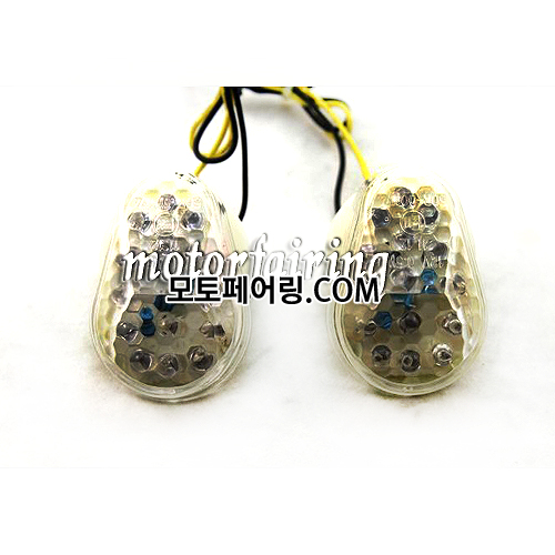 [깜빡이]Universal Motorcycle LED Turn Signals Light Indicator Flasher MT303-2C 15