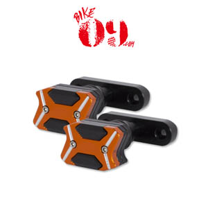 KTM Motoo -2017 For KTM DUKE RC 125 250 390 NEW CNC Aluminum Left and Right Motorcycle Frame Slider Anti Crash pads Protector