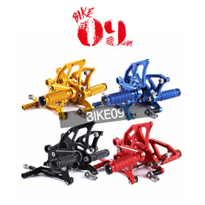 BMW Full CNC Aluminum Motorcycle Adjustable Rearsets Rear Sets Foot Pegs For BMW S1000RR 2009-2014