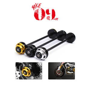 가와사키 Motoo - Motorcycle CNC Front Axle Slider Frame Sliders Crash Protector For Kawasaki Z800 2013-2015 Z1000 2011-2015