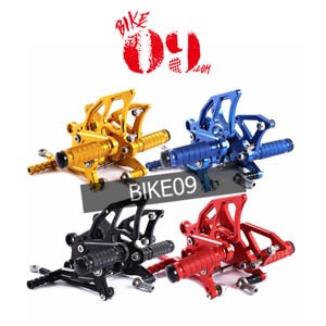가와사키 Motoo - Full CNC Aluminum Motorcycle Adjustable Rearsets Rear Sets Foot Pegs For KAWASAKI Z1000 NON-ABS 2010-2012