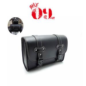 할리 Saddlebag PU Leather Bag Sissy Bar Bags Storage Tool Pouch