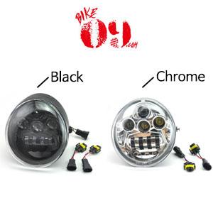 할리데이비슨 V로드 브이로드 LED 헤드라이트 블랙/크롬 VRSCF/VRSC/VRSCR/