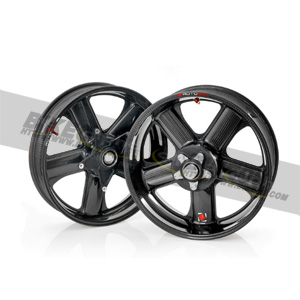 "[S1000RR] ROTOBOX rim set carbon 3.5""/6.0""x17"" glossy"