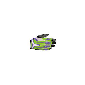 알파인스타 오프로드 장갑 Alpinestars Charger Glove 2012 (Green/Violet/Black/White)
