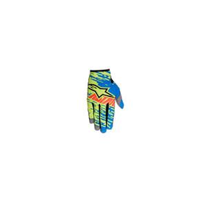 알파인스타 오프로드 장갑 Alpinestars Racer Braap Youth Gloves (Blue/Green/Red) - 키즈용