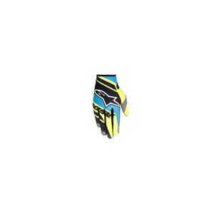 알파인스타 오프로드 장갑 Alpinestars Racer Supermatic Youth Gloves (Black/Blue/Yellow) - 키즈용