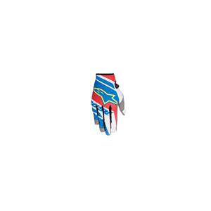 알파인스타 오프로드 장갑 Alpinestars Racer Supermatic Youth Gloves (Blue/Red/White) - 키즈용