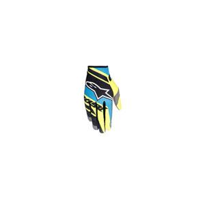 알파인스타 오프로드 장갑 Alpinestars Racer Supermatic Gloves 2016 (Black/Blue/Yellow)