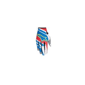 알파인스타 오프로드 장갑 Alpinestars Racer Supermatic Gloves 2016 (Blue/Red/White)