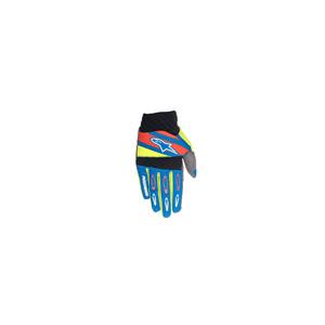 알파인스타 오프로드 장갑 Alpinestars Techstar Factory Gloves (Blue/Yellow/Red)
