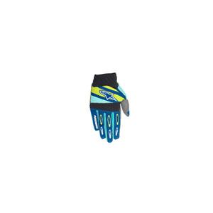 알파인스타 오프로드 장갑 Alpinestars Techstar Factory Gloves (Blue/Turquoise/Yellow)