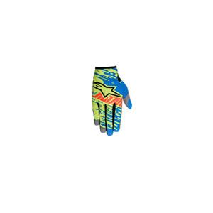 알파인스타 오프로드 장갑 Alpinestars Racer Braap Gloves 2016 (Blue/Green/Red)