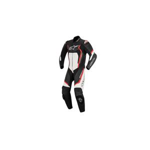 알파인스타 슈트, 가죽 슈트, 원피스 슈트 Alpinestars Motegi V2 One Piece Leather Suit (Black/Red/White)