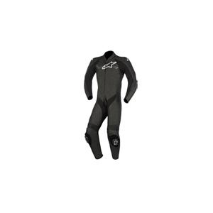 알파인스타 슈트, 가죽 슈트, 원피스 슈트 Alpinestars Challenger V2 One Piece Leather Suit (Black)