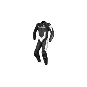 알파인스타 슈트, 가죽 슈트, 원피스 슈트 Alpinestars Challenger V2 One Piece Leather Suit (Black/White)