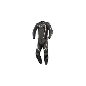 알파인스타 슈트, 가죽 슈트, 투피스 슈트 Alpinestars Motegi V2 Two Piece Leather Suit (Black/White/Red)