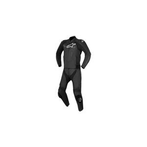 알파인스타 슈트, 가죽 슈트, 투피스 슈트 Alpinestars Challenger V2 Two Piece Leather Suit (Black)