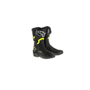 알파인스타 부츠 Alpinestars SMX-6 V2 Motorcycle Boots (Black/Yellow)