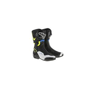 알파인스타 부츠 Alpinestars SMX-6 V2 Motorcycle Boots (Black/White/Blue)