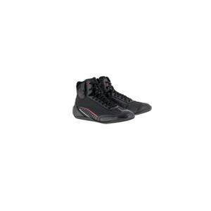 알파인스타 부츠 Alpinestars AST-1 Drystar Waterproof Shoes (Black/Red)