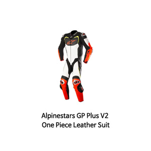 알파인스타 슈트, 가죽 슈트, 원피스 슈트 Alpinestars GP Pro Tech Air One Piece Leather Suit (Black/White/Red/Yellow)