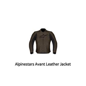 알파인스타 자켓, 가죽 자켓 Alpinestars Avant Leather Jacket