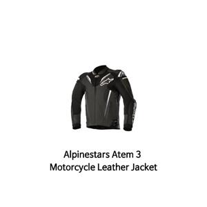 알파인스타 자켓, 가죽 자켓 Alpinestars Atem 3 Motorcycle Leather Jacket (Black)