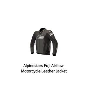 알파인스타 자켓, 가죽 자켓 Alpinestars Fuji Airflow Motorcycle Leather Jacket (Black)