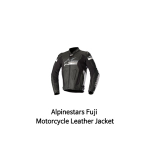 알파인스타 자켓, 가죽 자켓 Alpinestars Fuji Motorcycle Leather Jacket (Black)