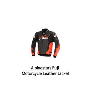 알파인스타 자켓, 가죽 자켓 Alpinestars Fuji Motorcycle Leather Jacket (Black/Red)
