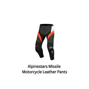 알파인스타 바지, 가죽 바지 Alpinestars Missile (Black/White/Red)