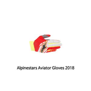 알파인스타 장갑 Alpinestars Aviator Gloves 2018 (Red/White/Black)