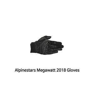 알파인스타 장갑 Alpinestars Megawatt 2018 Gloves (Black)