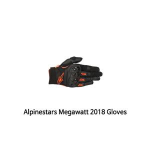 알파인스타 장갑 Alpinestars Megawatt 2018 Gloves (Black/Orange)