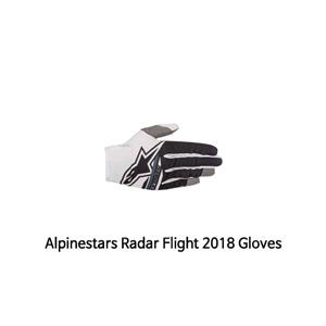알파인스타 장갑 Alpinestars Radar Flight 2018 Gloves (Black/White)