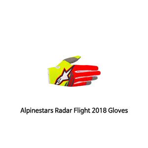 알파인스타 장갑 Alpinestars Radar Flight 2018 Gloves (Red/Yellow)