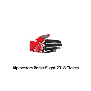 알파인스타 장갑 Alpinestars Radar Flight 2018 Gloves (Red/Black)