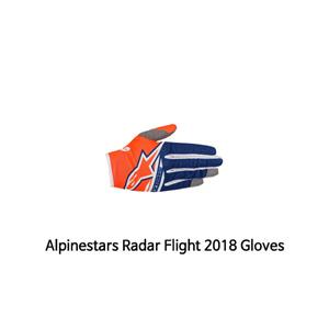 알파인스타 장갑 Alpinestars Radar Flight 2018 Gloves (Orange/Blue)