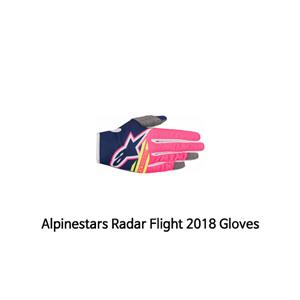 알파인스타 장갑 Alpinestars Radar Flight 2018 Gloves (Pink/Blue)